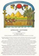 ASTROLOGIE EGYPTIENNE  GEB (dil23) - Astrology