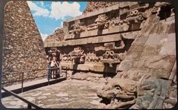 Ak Mexiko - Teotihuacan - Tempel - Mexiko