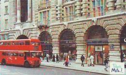 Télécarte Japon * ANGLETERRE * ENGLAND * LONDON * Double-decker Bus  (374) GREAT BRITAIN Related *  Phonecard Japan * - Landscapes