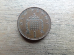 Grande-bretagne  1 New Penny  1978  Km 915 - 1971-… : Monnaies Décimales