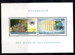 BF103 - NICARAGUA 1961 , Il Foglietto N. 95 ANNO DEL RIFUGIATO  ** - Nicaragua