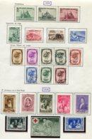 11185  BELGIQUE  Collection Vendue Par Page */° N°481/503  1938-39  B/TB - Verzamelingen