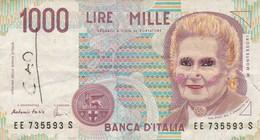 ITALIE - 1000 Lires - 3/10/1990 - Banca D'Italia - [ 2] 1946-… : République