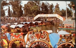 Ak Mexiko - Xochimilco - The Main Boat Landing - Mexiko