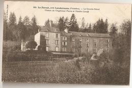 La Forest, Près LANDERNEAU - La Grande-Palud . Maison De L'Ingénieur Pierre Et Moulin Caroff - France