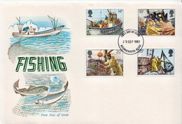 Great Britain Set On FDC - Jobs