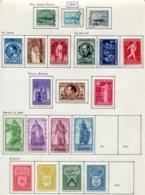 11200  BELGIQUE  Collection Vendue Par Page */° N°725/46 Sauf 741/2    1946  B/TB - Belgique