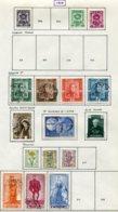 11203  BELGIQUE  Collection Vendue Par Page °/* N°798, 801/2, 807/20 Sauf 17    1949  B/TB - Belgique