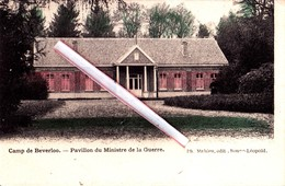 Camp De BEVERLOO - Pavillon Du Ministre De La Guerre - Superbe Carte Colorée - Leopoldsburg (Kamp Van Beverloo)