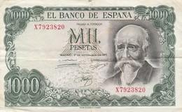 ESPAGNE - 1000 Pesetas - 17/09/1971 - El Banco De Espana - 1000 Pesetas