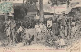 Sur Les Bords De L'Adour - Campement De Montreurs D'ours - Tarbes