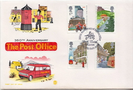 Great Britain Set On FDC - Post