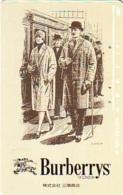 Télécarte Japon * ANGLETERRE * ENGLAND * MODE ANGLAISE * BURBERRYS Of LONDON   (381) GREAT BRITAIN * Phonecard Japan - Mode