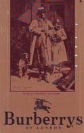 Télécarte Japon * ANGLETERRE * ENGLAND * MODE ANGLAISE * BURBERRYS Of LONDON   (382) GREAT BRITAIN * Phonecard Japan - Mode