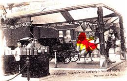 Exposition Provinciale Du Limbourg à SAINT-TROND (1907) Intérieur Des Halls  - Superbe Carte Circulée. - Sint-Truiden