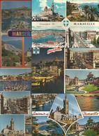 Cp , 13 , MARSEILLE , BOUCHES DU RHONE ,  LOT DE 5 CARTES POSTALES - Cartes Postales