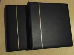LOT De 2 RELIURES SAFE De COULEUR BLEU-FONCÉ SANS FEUILLES - Albums & Reliures