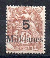 PORT-SAID - YT N° 39 - Neuf * - Cote: 15,00 € - Unused Stamps