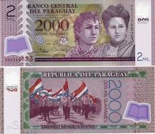 PARAGUAY       2000 Guaraníes      P-228[d]       2017 (2018)     UNC - Paraguay