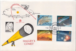Great Britain Set On FDC - Astronomy
