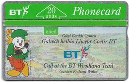 UK - BT - L&G - BTC-047 - Welsh Garden Festival - 224E - 20Units, 5.000ex, Mint - United Kingdom