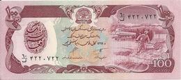AFGHANISTAN 100 AFGHANIS 1979-91 UNC P 58 - Afghanistan