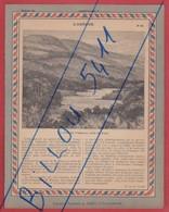 Protége Cahier Ancien La France Coloniale . CONGO Français  ( L'OGÔOUE ) Prés De L'opé ; Vue De Lambaréné - Protège-cahiers