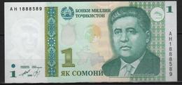 B 125 - TADJIKISTAN Billet De 1 Somini état Neuf 1er Choix - Tadschikistan