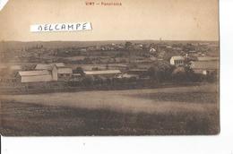 CP VIMY PANORAMA  ARRACHé AU COIN EN HAUT A GAUCHE - France