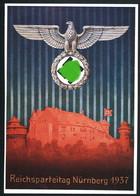 AK/CP Reichsparteitag Nürnberg 1934   Propaganda  Nazi  Ungel/uncirc. 1937    Erhaltung/Cond. 1-/ 2  Nr. 00578 - Weltkrieg 1939-45