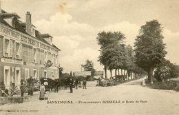- DANNEMOINE (89) - L'hôtel Boisseau (spécialités D'escargots, Animée)  -17920- - Autres Communes