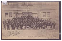 GENEVE - MUSIQUE D'ELITE - GENEVE-BARCELONNE 1908 - TB - GE Genève