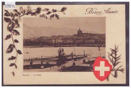 GENEVE - LA RADE - BONNE ANNEE - TB - GE Genève