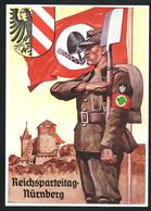 AK/CP Reichsparteitag Nürnberg 1937   Propaganda  Nazi  Ungel/uncirc. 1937    Erhaltung/Cond. 1 / 1-  Nr. 00579 - Weltkrieg 1939-45