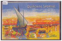 GENEVE - QUINZAINE SPORTIVE 1905 - TB - GE Geneva