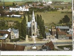 CP VIMY VUE AERIENNE AVEC L EGLISE - France