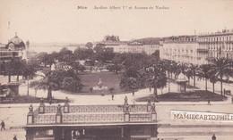 NICE - Dépt 06 - Jardin Albert Ier Et Avenue De Verdun - Parks, Gärten