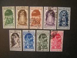 1934 - ANNESSIONE DI FIUME , Aerea+ Espressi,compl.9 Val. Usati, TTB,  OCCASIONE - 1900-44 Vittorio Emanuele III