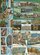Cp , 13 , MARSEILLE , BOUCHES DU RHONE,  LOT DE 5 CARTES POSTALES - Cartoline