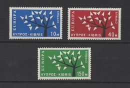 CHYPRE. YT  N° 207/209  Neuf **  1962 - Cyprus (Republic)