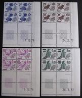 DF50500/227A - PREO - N°146 à 149 - 4 BLOCS CdF Datés NEUFS** - Cote : 41,00 € - 1970-1979