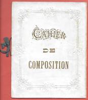 CAHIER DE COMPOSITION - Années 1900 - ANALYSE - HISTOIRE -GEOGRAPHIE -EXERCICE D'ETYMOLOGIE - PROBLEME -NARRATION - Diplômes & Bulletins Scolaires