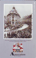 Télécarte Japon * ANGLETERRE * ENGLAND * MODE ANGLAISE *  AQUASCUTUM Of LONDON (394) GREAT BRITAIN * Phonecard Japan - Fashion