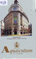 Télécarte Japon * ANGLETERRE * ENGLAND * MODE ANGLAISE *  AQUASCUTUM Of LONDON (394b) GREAT BRITAIN * Phonecard Japan - Fashion