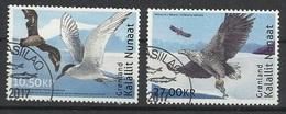 GROENLAND N° 738 Et 739 Oblitérés Année 2017 - Oiseaux - Used Stamps