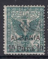 Italy Offices 1902 Albania Sassone#1 Mi#1 Used - 11. Oficina De Extranjeros