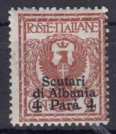 Italy Offices 1915 Scutari Albania Sassone#9 Mi#31 Mint Hinged - 11. Oficina De Extranjeros