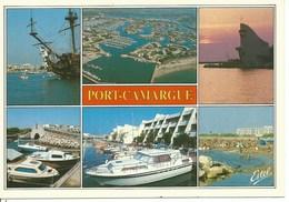 (A) Port Camargue - Multivues - France