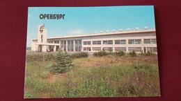 RUSSIA. Orenburg AIRPORT -stationery -  OLD USSR PC 1992 Prepaid Stationery - Aerodromes