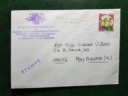 (16613) STORIA POSTALE ITALIA 1988 - 1981-90: Storia Postale